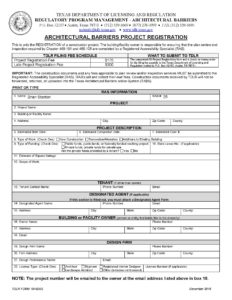 Project Registration Form